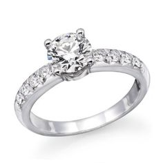 ND Outlet - Engagement   GIA Certified 1 ctw. Round Diamond Solitaire Engagement Ring in 14k White Gold   Be the first to review this item | Like   (1)  Suggested Price:$8,900.00  Price:$5,600.00   Sale:$2,299.00   You Save:$6,601.00 (74%)