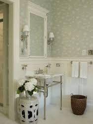 Image result for hamptons powder room