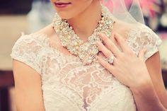 Now Trending: Bridal Statement Necklaces