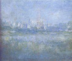 W 518 Claude Monet - Vétheuil dans le brouillard [1879]   Flickr - Photo Sharing!
