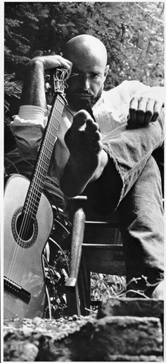 Shel Silverstein........I have always loved this photo of him