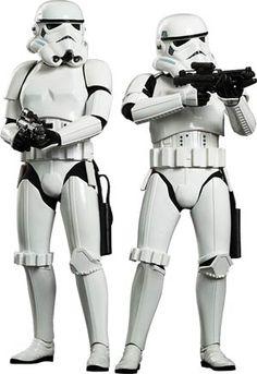 #StarWars Episode IV A New Hope #Stormtrooper 12-Inch Action Figure Set - Midtown Comics