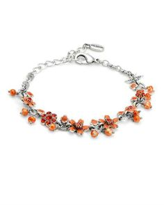 Blossoming, hand made bracelet. Pretty Hands, French Chic, Pilgrim, Danish Design, Crystal Bracelets, Beaded Necklace, Pearls, Crystals, Lady