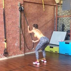 Hypnotically slow and steady pulls 🧘🏻♀️. What's not to love about summer 😜👍. AthensG is a cool customer that keeps coming back for more aerobis equipment while we always come back for more sweet Instas! Crossfit Garage Gym, Home Gym Garage, Gym Room At Home, Diy Gym Equipment, Commercial Fitness Equipment, No Equipment Workout, Outdoor Gym, Outdoor Workouts, Gym Workouts