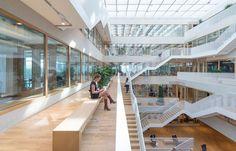 Polak Building / Erasmus University Rotterdam, Rotterdam, 2015 - Paul de Ruiter Architects