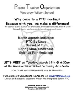 parent flyer templates - 1000 images about pto pta meetings on pinterest pto