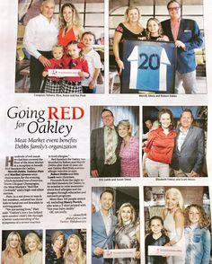 "Palm Beach Daily News: Going RED for Oakley: ""Hundreds of red sneaker-clad feet covered the floor... Oakley's story has helped save another child's life through a better understanding of the symptoms of a severe reaction to food allergies"" #redsneakersforoakley #foodallergies #anaphylaxis #foodallergyawareness"