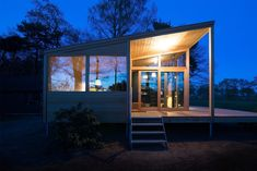 Exterior, Wood Siding Material, and Cabin Building Type  Skyview Cabin by BoutiqueHomes