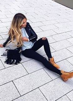 Best fall outfits October November 2017 2018 ideas - LadyStyle