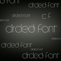 Circled Font by lovelielife.deviantart.com on @deviantART