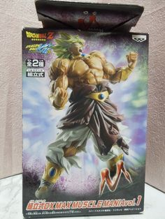 NEW Dragon Ball DX MAX MUSCLE MANIA Broly Figure from Japan