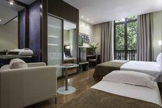 Hotelzimmer-Design im Atriumpalace, Barcelona. http://www.malerische-wohnideen.de/blog/scouting-hotelzimmer-design-in-barcelona.html
