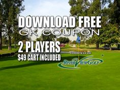 GK Coupon – River View Golf Course Tee Time Special