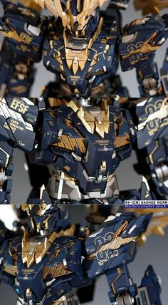PG 1/60 RX-0[N] Banshee Norn - Customized Build     Modeled by Dal-Ho