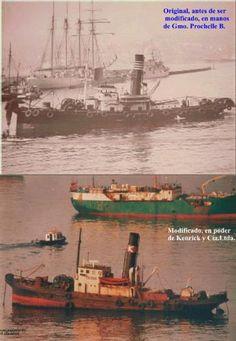 """Remolcador de Alta Mar """"Poderoso""""     -----  Pinceladaspuerto-Fotolog."""