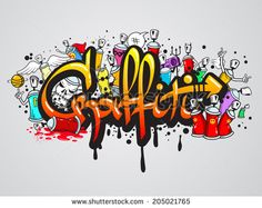 Graffiti Spray Can Characters Angel   Spraycan Stock Photos, Illustrations, and Vector Art