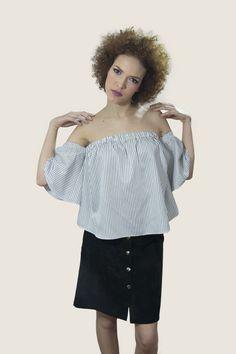 #top #falda #moda #mujer #mingus