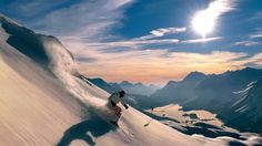 Helicopter skiing in British Columbia or Alaska--Seriously!!!