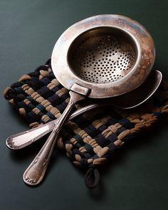 Tea strainer. Photo by Luiz Laercio.