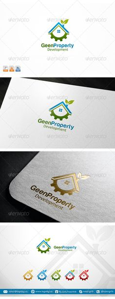 Property Development Logo Design Template Vector #logotype Download it here:  http://graphicriver.net/item/property-development-/8314492?s_rank=1679?ref=nesto