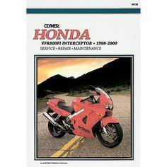 Clymer Honda VFR800FI Interceptor (1998-2000) - https://www.boatpartsforless.com/shop/clymer-honda-vfr800fi-interceptor-1998-2000/