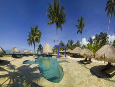 The Pool And Beach At Coconuts Resort Is Quintessential Samoa