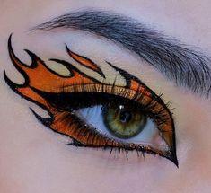 Dope Makeup, Edgy Makeup, Grunge Makeup, Eye Makeup Art, No Eyeliner Makeup, Crazy Makeup, Glitter Makeup, Graphic Eyeliner, Makeup Looks
