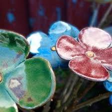 Afbeeldingsresultaat voor fleur ceramique jardin