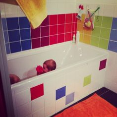 Rainbow Bathroom Marjoliemaman