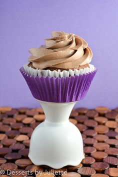 Chocolate Butter Icing Recipe ~ Say: This icing is a quick and easy frosting for cupcakes or cake of any kind. It is super sweet and filled with chocolate-y goodness. You will honestly just keep eating the icing by itself; it's that good. So if you want a quick and delicious frosting, this here is your answer.