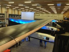 1st solar plane to fly around the world unveiled today in Switzerland (exclusive videos)