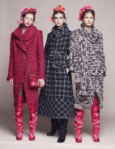 Лукбук Chanel Métiers d'Art Paris Cosmopolite (Интернет-журнал ETODAY)