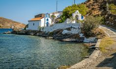 Kythnos Island Greece Greek Islands, Greece, Explore, Mansions, House Styles, Water, Photography, Travel, Outdoor