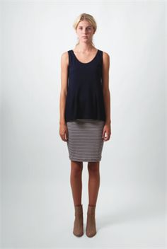 Peplum Tank by Belle + Beau from The Beautiful Think