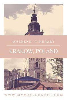 Our itinerary for Krakow covered four days, including a weekend. We tried to cover both culture site Europe Travel Guide, Europe Destinations, Travel Guides, Travel Advice, Travel Photography, Night Photography, Landscape Photography, Poland Travel, Central Europe