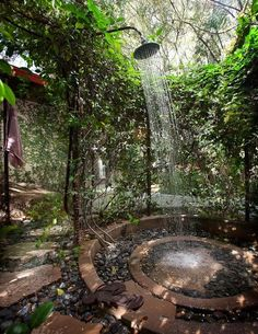 great outdoor shower