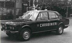 Alfetta first series (Carabinieri)