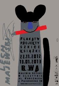Lech Majewski - plakaty, projekty, ksiazki Tytuł ang./oryg.Lech Majewski - posters, books, illustrations Autor plakatu:Majewski Lech