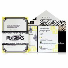Destination Wedding Stationery And Invitation Designs | Wedding Ideas Brides.com. Love the weekend event RSVP