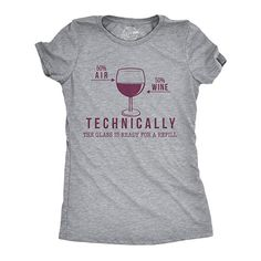 a424ef3f Wine Shirt Women, Weekend Warrior Shirt, Party Shirt Funny, Funny Drinking  Shirt, Technically The Gl