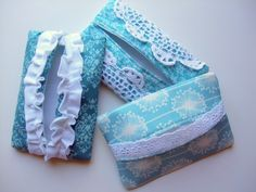 step by step tutorial - tissue pouch