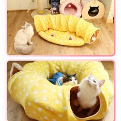 Winter Cat Nest Cat Toy Cat Tunnel