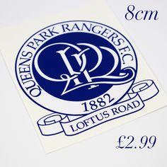 Q.P.R (Queens Park Rangers F.C ) print and cut self adhesive vinyl decal,sticker,wall art