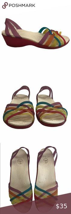 Crocs Classic Cobblestone Slip Mules Clogs Sandals Sz Size
