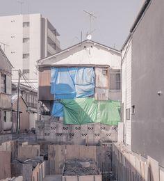 Construction, Arakawa, Tokyo  © Jan Vranovsky, 2015