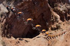 Brandon Semenuk, photographed by Christian Pondella in Virgin, UT. Red Bull Illume Image Quest 2013.