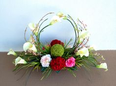 Calla lily welcome arrangement designed by Arcadia Floral & Home Decor