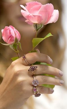 These cute rings came from inside a candle! Each candle contains a cute ring. This would make an awesome Mother's Day Gift!