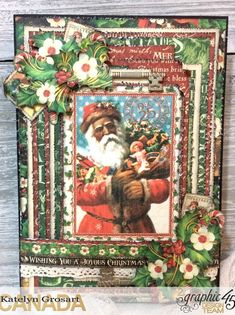 How to Create a Christmas Card Using G45