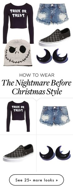 """Untitled #9"" by peanutbutterandjellyfish on Polyvore featuring Topshop, One Teaspoon and Vans"